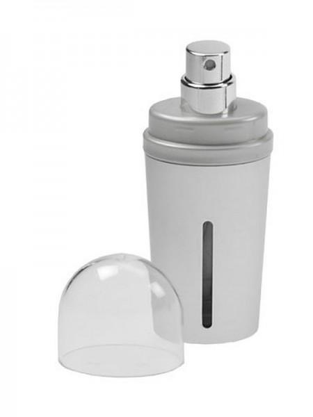 Zerstäuber,Silber Taschenzerstäuber 15 ml Parfümzerstäuber 9 cm, Pump Zerstäuber für Unterwegs