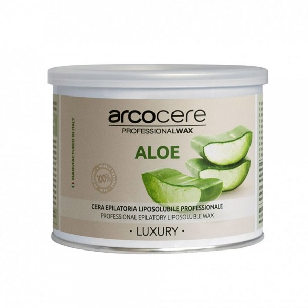 Warmwachs Aloe Vera Luxury arcocere, Dose 400 ml