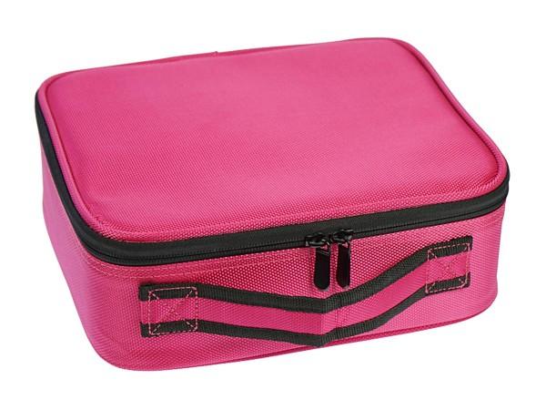 Beauty Koffer Tool Case pink mit Organizer-Einteilungen verstellbar