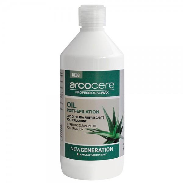 arcocere After-Wax Öl Aloe Vera Minze Menthol, 500ml