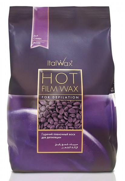 Filmwachs Plum Pflaume Italwax Hot Film Wax Wachsperlen,