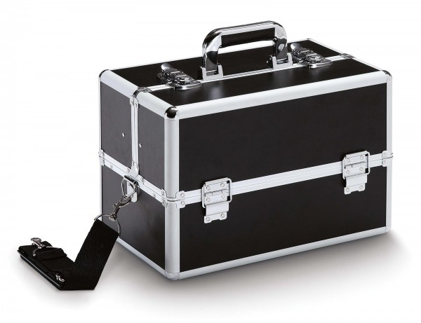 37x23x25 cm Werkzeugkoffer mit Schultergurt, Job 200 Black