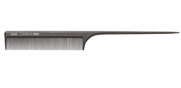 Carbon-Stillkamm, 21 cm Friseurkamm