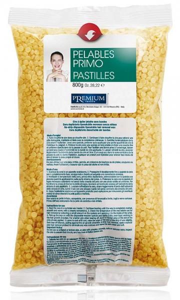 Premium Wachsperlen Pelable Primo Honig Miele Xanitalia, 800g