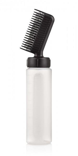 Applikationsflasche mit Kamm, Applikator-Flasche, 100ml