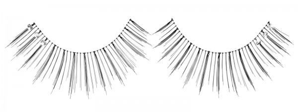 Künstliche Wimpern Full Diamond, Wimpernband inkl. Kleber