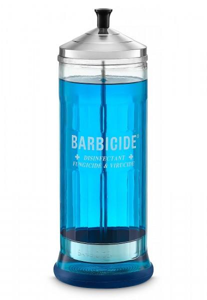 Barbicide Glas, Desinfektionsglas,