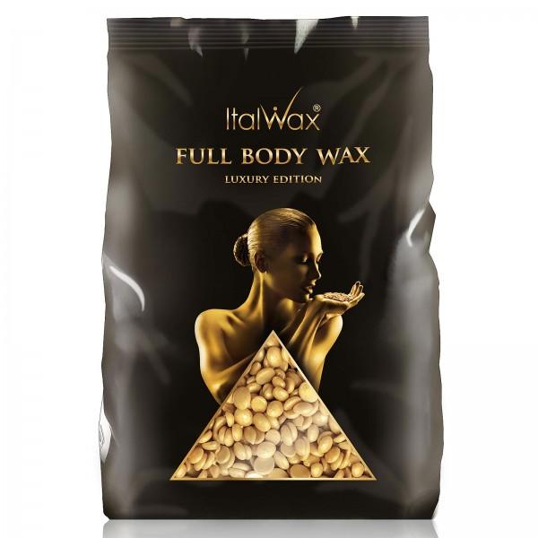 Filmwachs Full Body Gold Italwax Cleopatra Hot Film Wax Wachsperlen