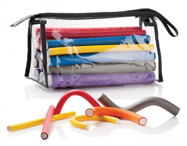 Flexible Lockenwickler Papilotten Set in verschiedenen Größen 24 Stück