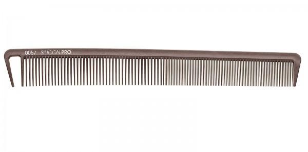 Friseurkamm, flexibler Silikonkamm, 22 cm Schneidekamm