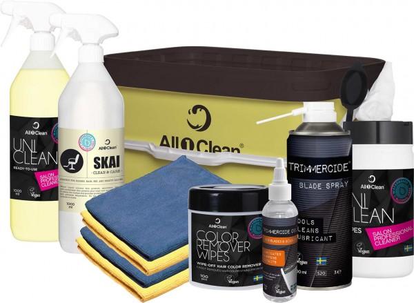Starterset All1Clean Friseur & Kosmetikstudio, Beauty Salon Reiniger
