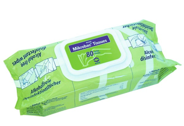 Mikrobac Tissues Flächendesinfektionstücher von Bode