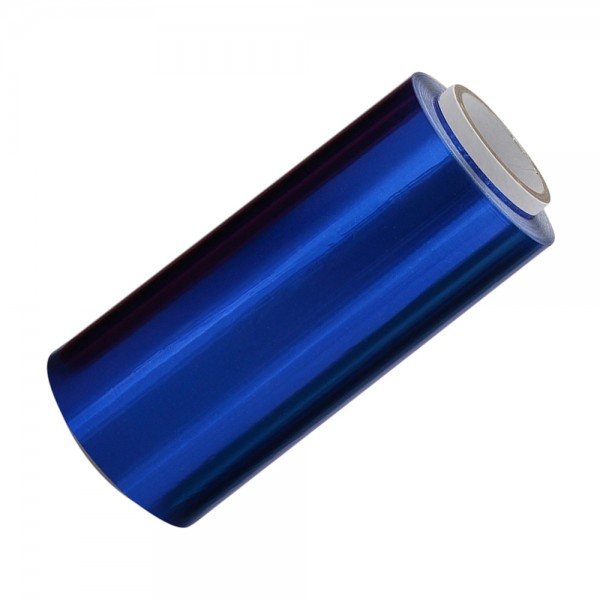 Blau Alufolie, 12 cm breit, 15 MICRON