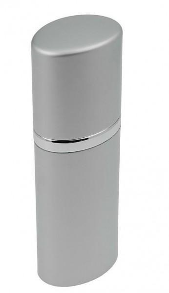 Zerstäuber,Silber Taschenzerstäuber 30 ml Parfümzerstäuber 12 cm, Pump Zerstäuber für Unterwegs