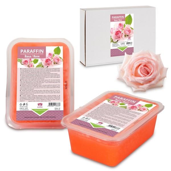 Kosmetex Paraffinbad Rosa, Paraffin-wachs Rose, 2 x 500ml