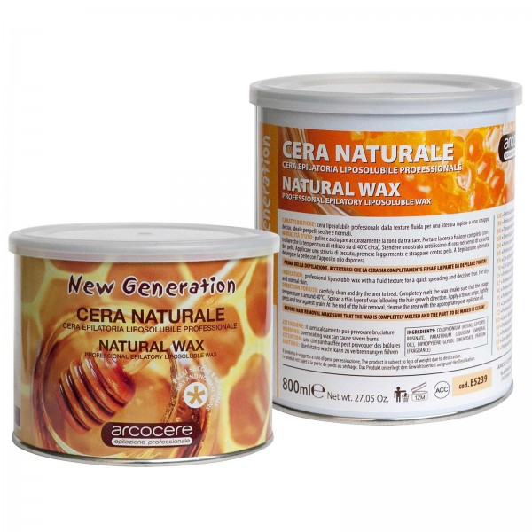 Warmwachs Natural Honig arcocere, Dose
