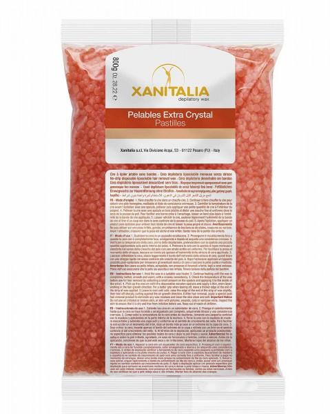 Xanitalia Orange Wachsperlen Pelable EXTRA Crystal, 800g