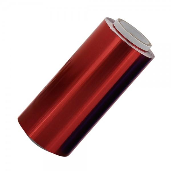 Rot Alufolie, 12 cm breit, 15 MICRON
