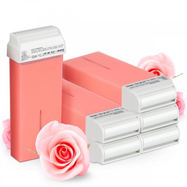 Kosmetex Wachspatrone Rosa, 100ml