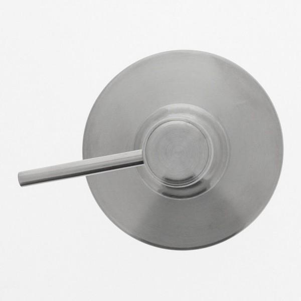 Seifenspender aus Edelstahl. Pflegeleichter Flüssigseifenspender, ca. 200 ml