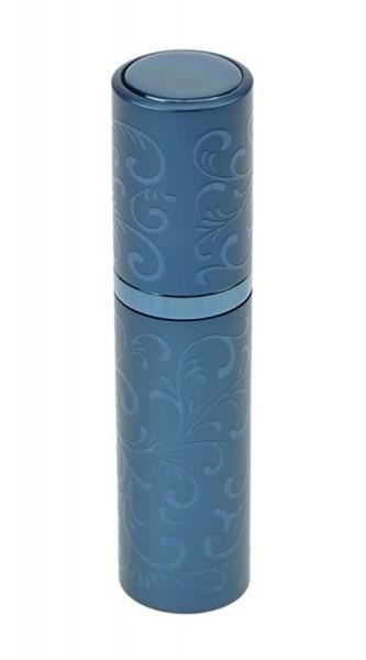 Taschenzerstäuber mit eindrehbaren Zerstäuberkopf, Blau Parfümzerstäuber, Pump Zerstäuber für Unterw