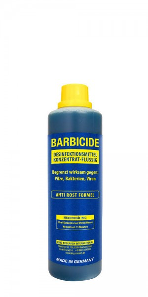 Barbicide Desinfektion Konzentrat für Gläser,