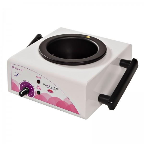 Quadrato Spezial Metall Wachserwärmer für 400ml Dosen, Kosmetex Wachserhitzer für Wachsdosen, Wachsp