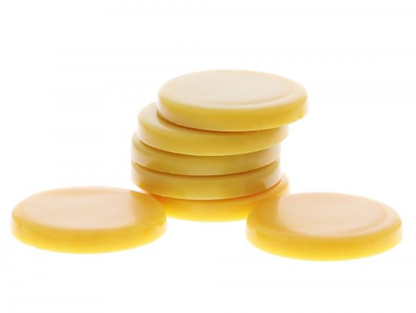 Honig Wachs-Scheiben, Warmwachs-Taler , Wachstaler SkinSystem 1 kg
