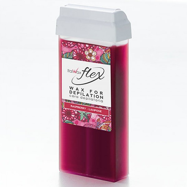 Wachspatrone Himbeere FLEX Italwax, 100 ml