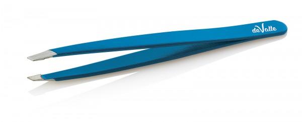 Augenbrauenpinzette, farbig, 9.5 cm, deValle