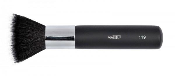 Make-up Pinsel, Finish Powder Brush, Puderpinsel mit Ziegenborste, schwarz