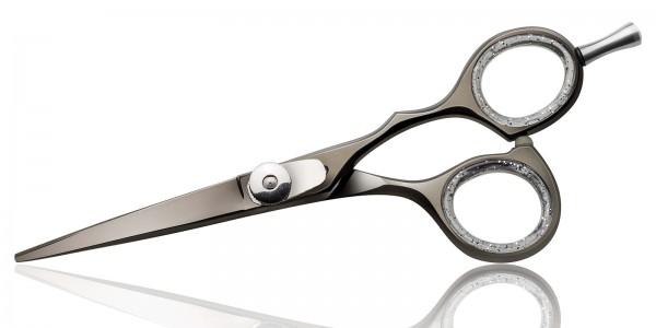 Friseurschere Master Black Haarschneidschere, Japan Stahl,