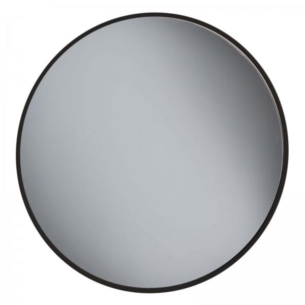 Friseur-Spiegel, Ø 24.5 cm Salonspiegel, schwarz