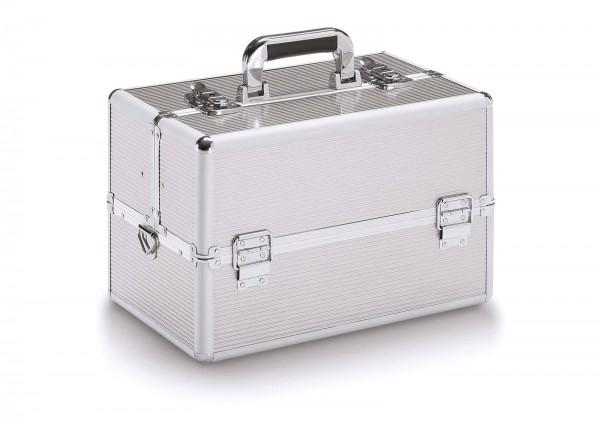 37x23x25 cm Werkzeugkoffer mit Schultergurt, Job 200 Silver