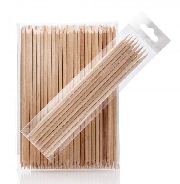 8x Holzstäbchen, 15 cm, für Maniküre Nagelhaut, Art wie Rosenholz Stäbchen