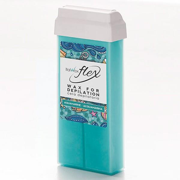 Wachspatrone Aquamarin FLEX Italwax, 100 ml
