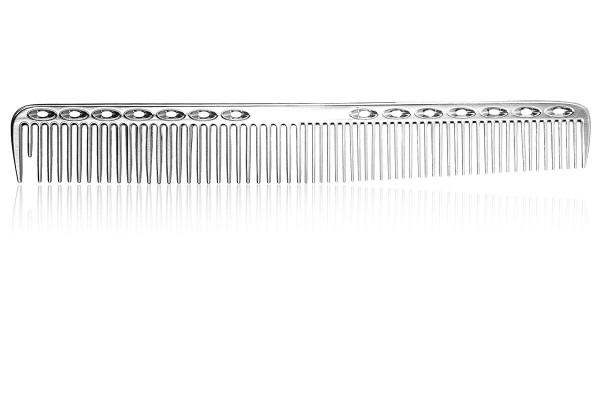 Haarschneidekamm, Aluminium Friseurkamm, 18 cm