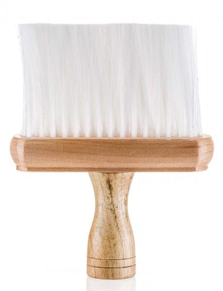 Friseur Nacken-Flachpinsel mit Holzgriff, 16cm