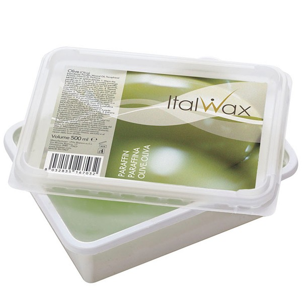Paraffin Olive, ItalWax, Paraffinwachs für Paraffinbäder, 500ml